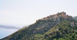 Blick auf Eze Village und Saint Jean Cap Ferrat