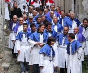 Karfreitag Prozession in Ligurien