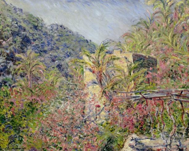 Monet das Tal von Sasso
