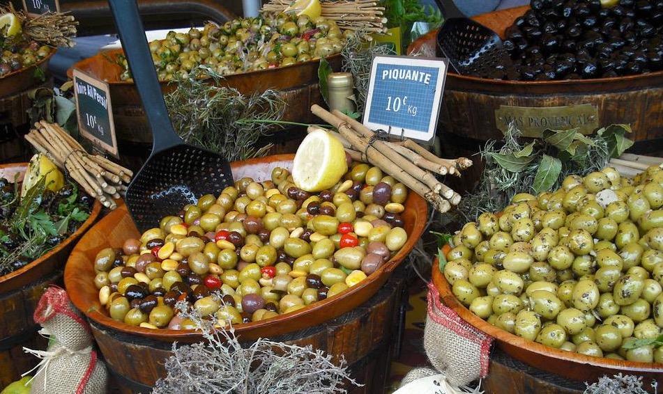 Oliven lecker zubereitet