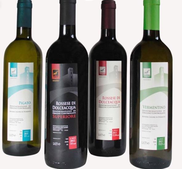 die Weine der azienda Mauro in Dolceacqua